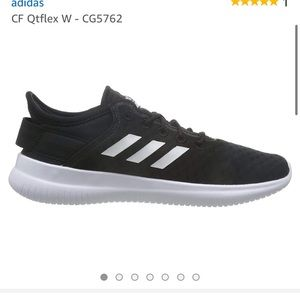 Adidas Women's Cloud Foam QT Flex Black White New